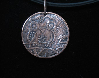 Owl Necklace  - 814