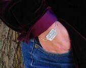 Personalized Mother's Bracelet Silver Name Bracelet Swarovski Crystal Bithstone Bracelet  Children's Names PMC Fine Silver Dog Tag