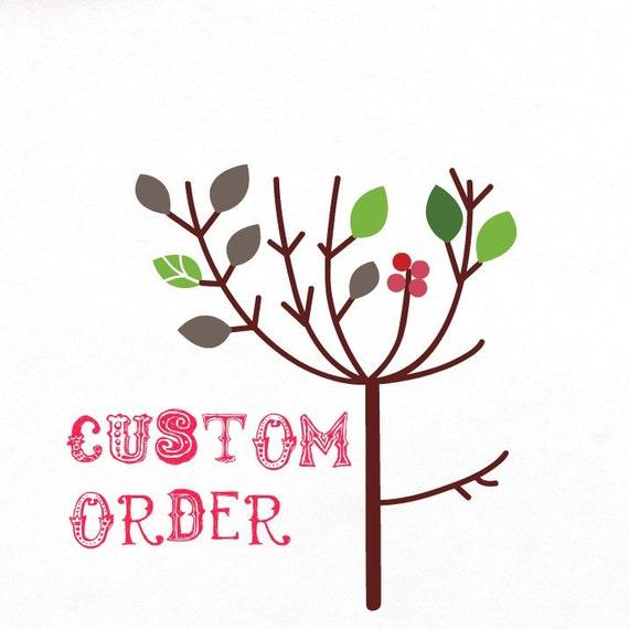 Custom order for rdnee Grandma bird