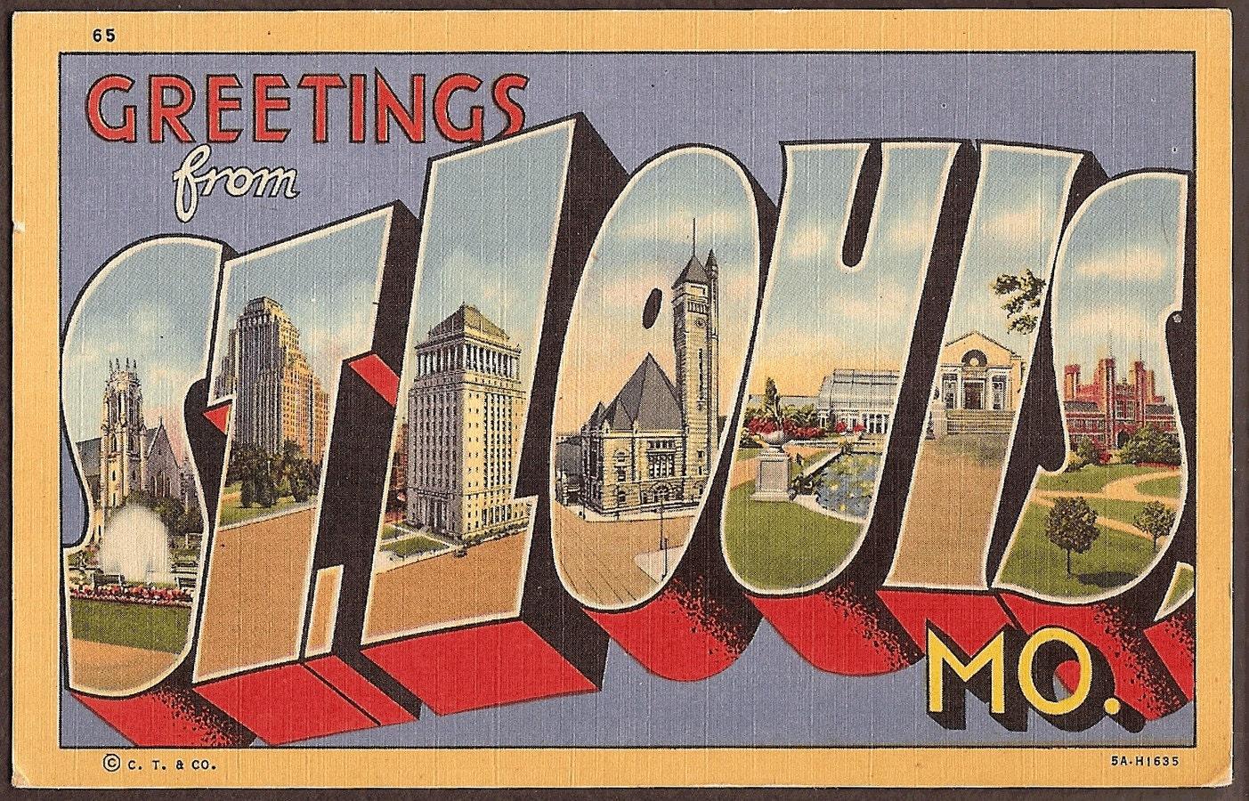Vintage Postcards Greetings From 18
