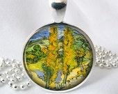 Van Gogh Resin Jewelry Pendant Resin Pendant Art Pendant (0230)
