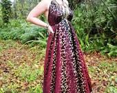 Midnight Sunset Dress, Custom Size ---FREE SHIPPING---