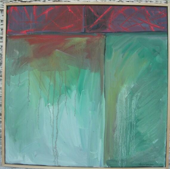 oil painting 'jericho I'