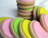 JUMBO DOTS Decorated Sugar Cookies, 1 Dozen