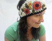 Flowers in Her Hair HEAD WRAP.