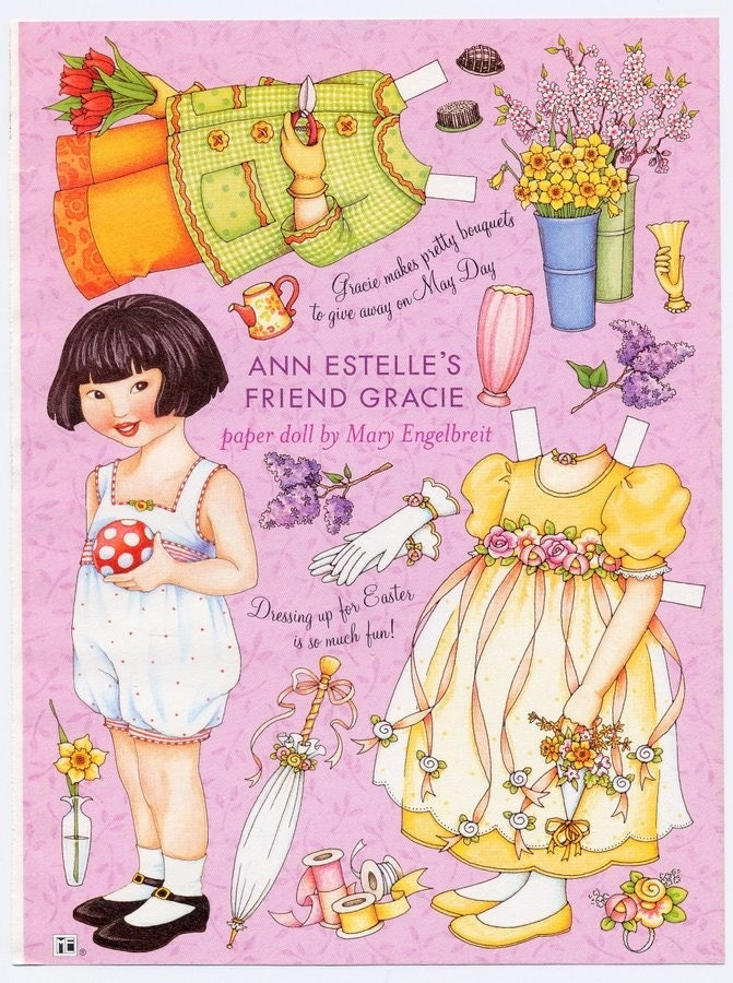 Reserved For Iamready Mary Engelbreit Paper Doll Ann