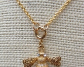 Sweet Little Bumble Bee Necklace
