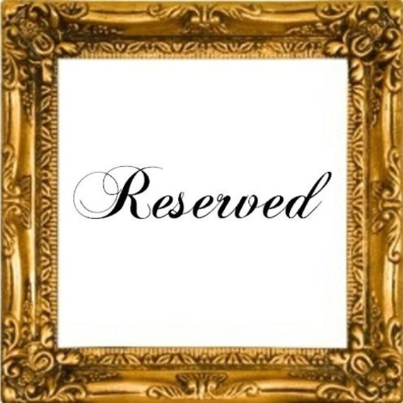 Reserved for Jonathan Williams