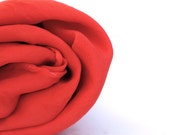 Hot Lava Red - 1 LARGE  Play Silk - Hand Dyed.
