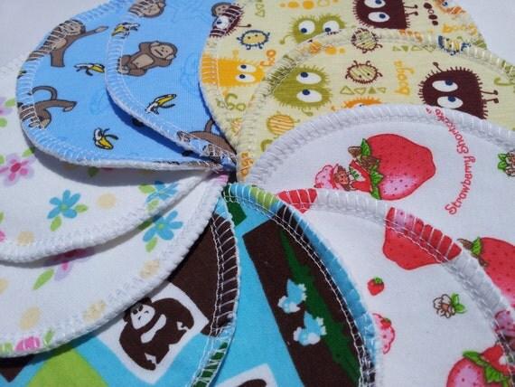 5 Pairs of Large Size Cloth Nursing Pads