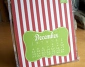 2011 Desk Calendar-Patterns by Green With Envy Studios