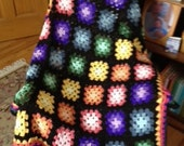 Granny Square baby or lap afghan