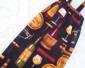 Plastic Bag Holder - Grocery Bag Dispenser - Wine Cellar