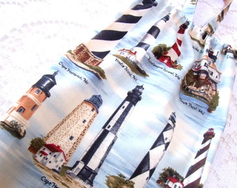 Lighthouses Bag Holder - Plastic Bag Holder - Grocery Bag Holder - Bag Dispenser - Kitchen Storage - SALE