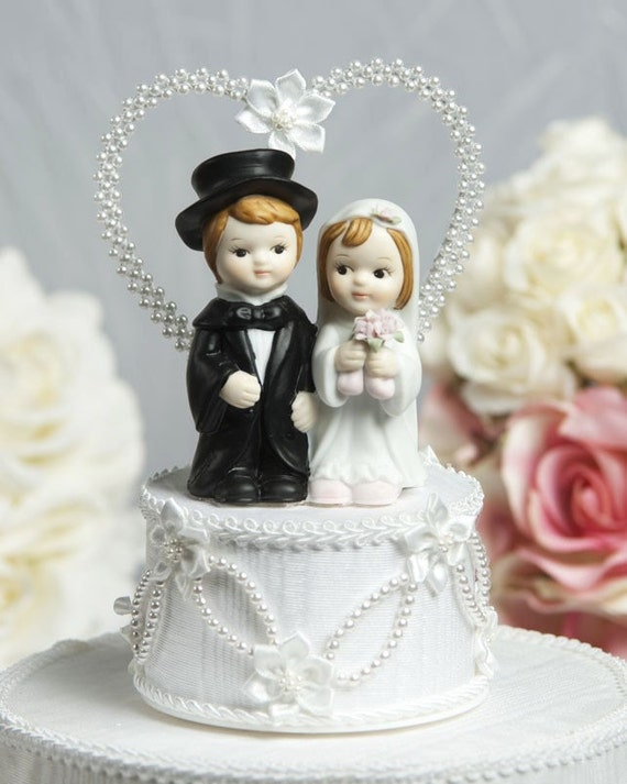 wedding cake topper with child unavailable listing on etsy 26657