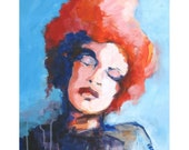 RESERVED for W Mia Bella  Original Painting on Canvas  16x20