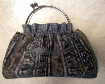 Small Versitile Reversible Handbag in Designer Fabrics New lower price)