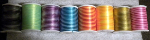 Signature Varigated Pixelles Size 30 thread special for one spool of pink hombre