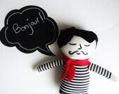 Monsieur Pascal Art Doll