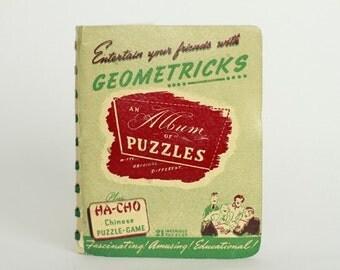 Little Geometricks Puzzle Book