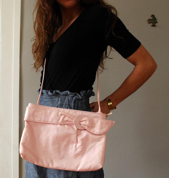 Vintage PINK Cross Body Bag