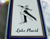 LAKE PLACID UNOPENED DECK OF CARDS - BOX MADE IN USA