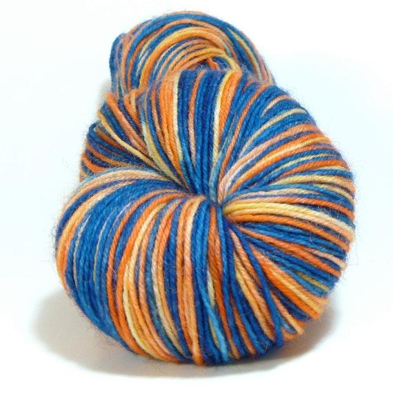 Self-Striping Jumping Joy Wool/Nylon Sock - Quintessence