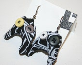 Krakk monster earrings
