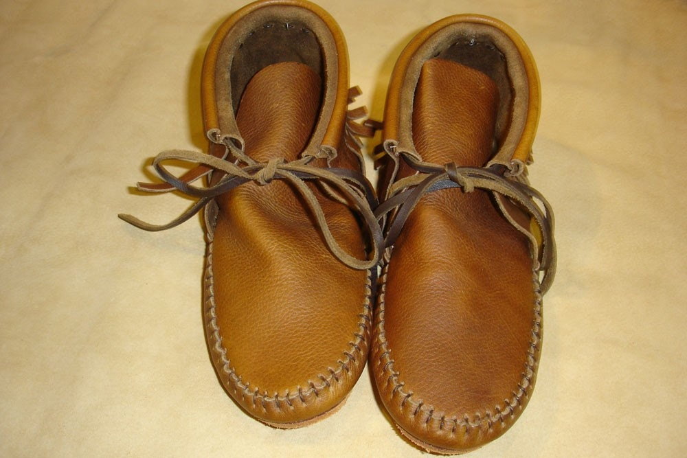 handmade moccasins for sale sale inca moccasins us 7 handmade shoes brown by almaleather 635