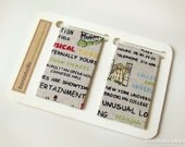 Magnetic Fabric Bookmarks - New York Travel -
