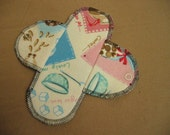Cotton Flannel Menstrual Pads Regular Pad CAFE PRINT
