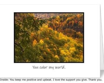 Thank you 5 x 7 greeting card