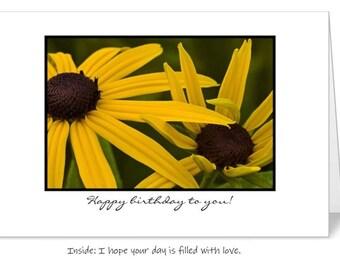 Happy Birthday 5 x 7 Greeting Card