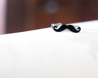 Mustache Tie Bar for Boy or Man- Movember Tie Clip adult or child