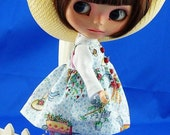 Blythe New Ladybug Button Gardening Smock esm. DARLING Chris