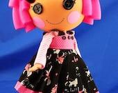 Lalaloopsy Doll Polly Goes To Paris  3 Piece Darling Chris