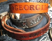 Custom Leather Dog Collar S/M