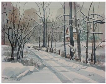 Winter Lane (SOLD)
