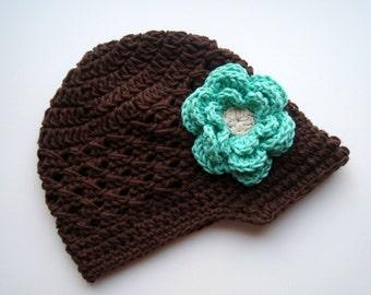 Crochet Baby Hat, Baby Girl Hat, Toddler Crochet Hat, Girls Winter Hat,  Baby Hat, Baby Girl, Crochet Hat, Toddler Hat, MADE TO ORDER