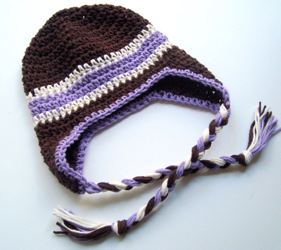 Crochet Earflap Hat, Crochet Baby Ear Flap Hat, Baby Earflap Hat, Boy or Girl Earflap Hat, Winter Hat, MADE TO ORDER in your color choices
