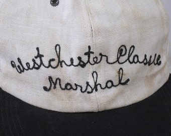 Marshal's Cap from Westchester Classic Golf Tornament