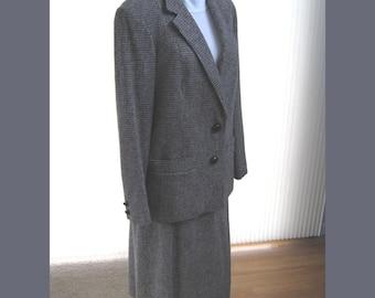 Miss Marple's British Tweeds - Vintage 70s Suit