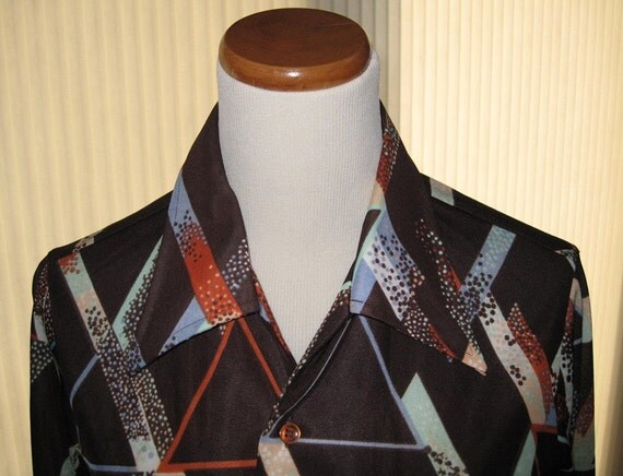 70s long sleeve shirt from Montgomery Ward