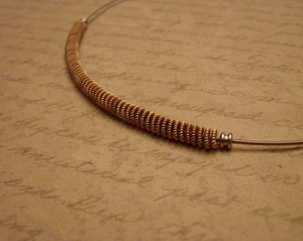 Guitar String Necklace-Free Shipping in the U.S.
