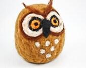 Felt Owl (Ocher)