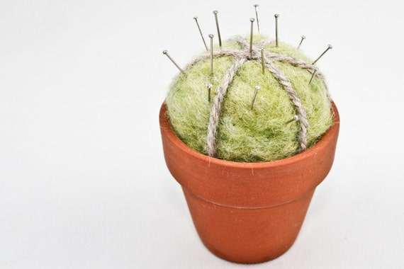 Tiny Felt Cactus (Pin Cushion)