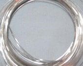 Three feet of 925 Sterling silver 24 guage half hard wire