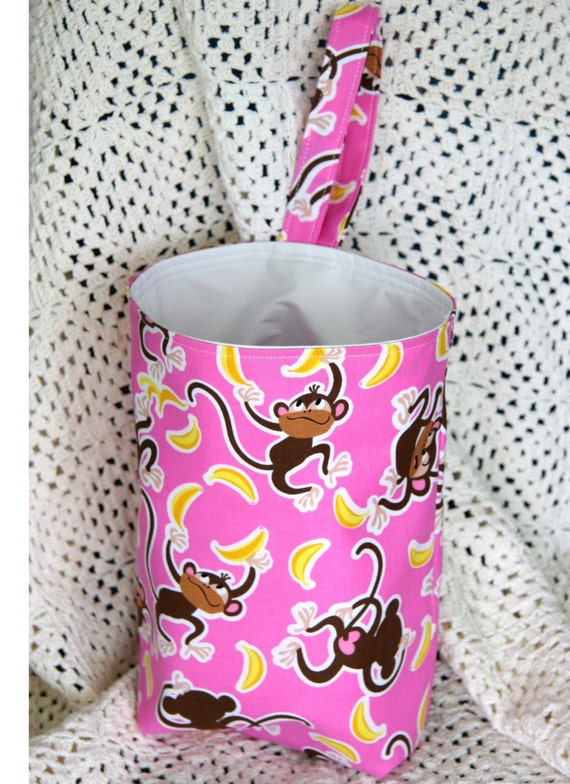 reserved listing Silly Monkey Reusable Car Litter Bag- Washable , Eco Friendly and Stylish