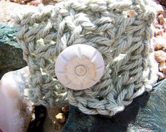 Sage Green Cuff Bracelet