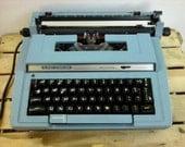 Vintage Super Sterling Electric Typewriter